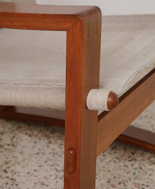 Danish Teak Sling Chair 2