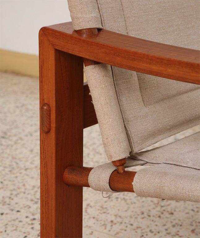Danish Teak Sling Chair 3