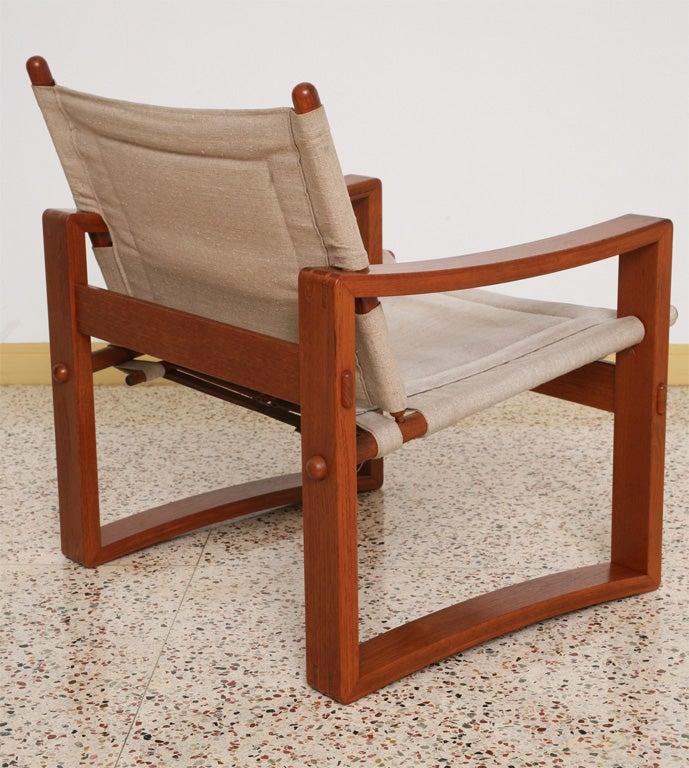 Danish Teak Sling Chair 4