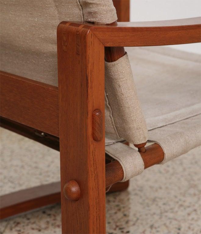 Danish Teak Sling Chair 5