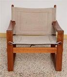 Danish Teak Sling Chair image 6
