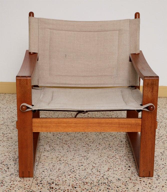 Danish Teak Sling Chair 6