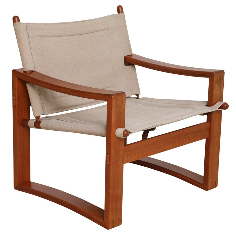 Danish Teak Sling Chair