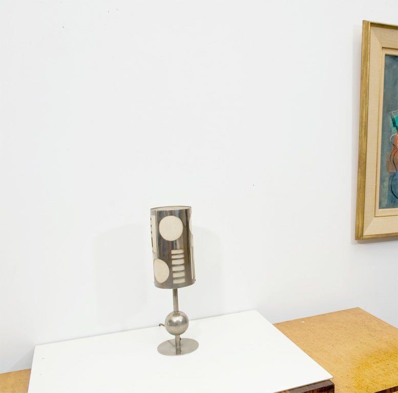 Art Deco Table Lamp Designed by Karl Hagenhauer 2