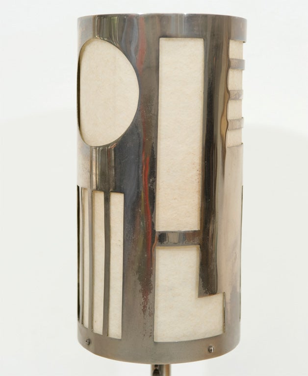 Art Deco Table Lamp Designed by Karl Hagenhauer 5