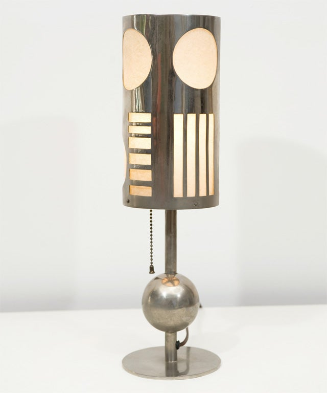 Art Deco Table Lamp Designed by Karl Hagenhauer 8