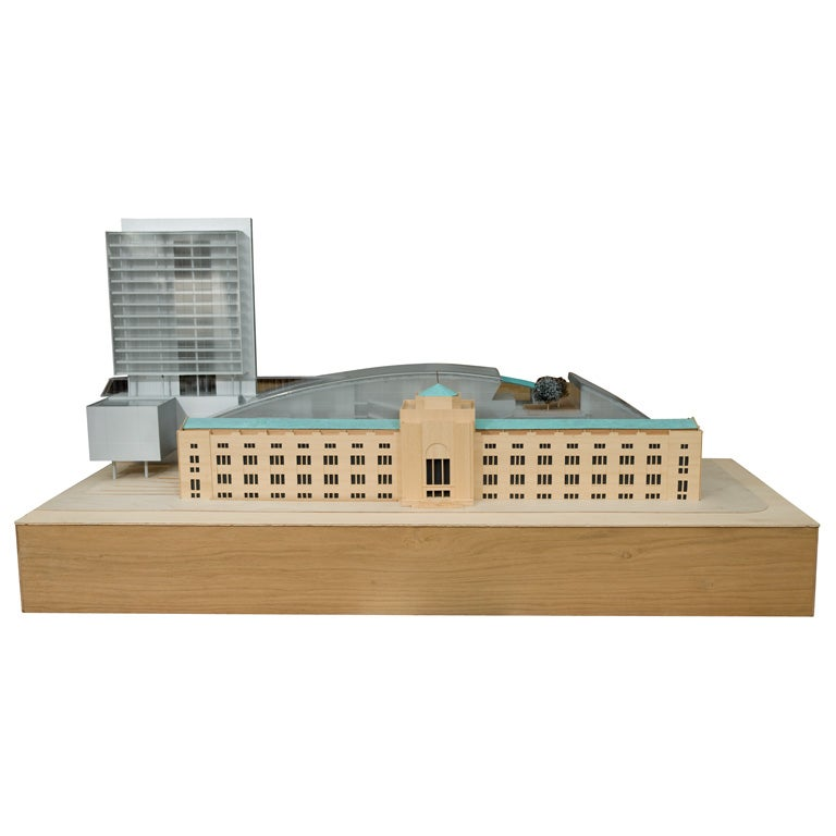 Architectural model by andrea bruno at 1stdibs for Architecture models for sale