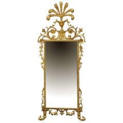 Early 19th Century Italian Gilt Mirror