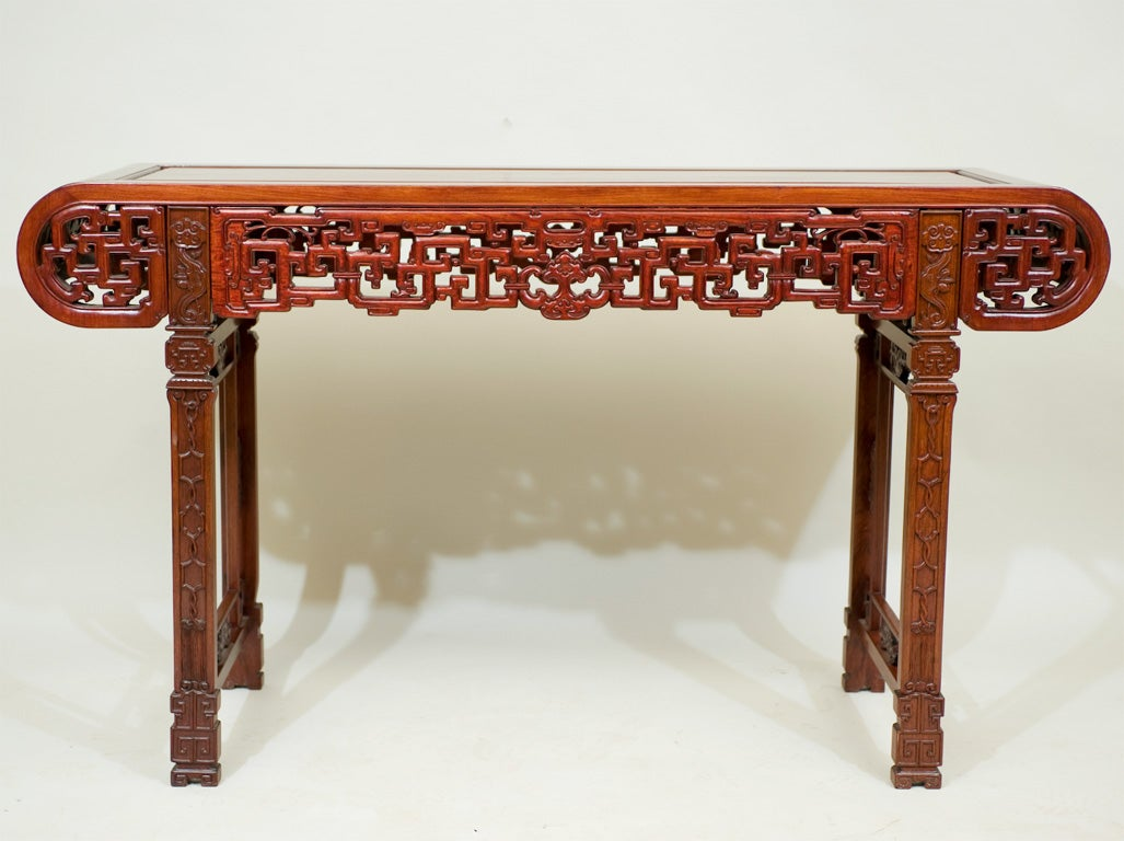 A Chinese Carved Padoukwood Table At 1stdibs. Storage Plastic Drawers. 36 Inch Computer Desk With Hutch. Trapezoid Table. High Top Bar Table. Pc Help Desk. Green Desk. 24 Drawer Slides. Pink Desk Organizer