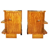 Art Deco Pair of Night Stands