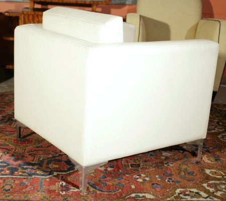 Pair of 1970's Milo Baughman Lounge Chairs image 5