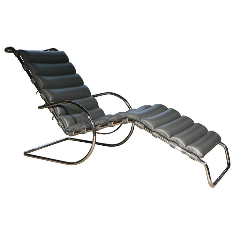 mies der rohe chaise lounge 1927 at 1stdibs