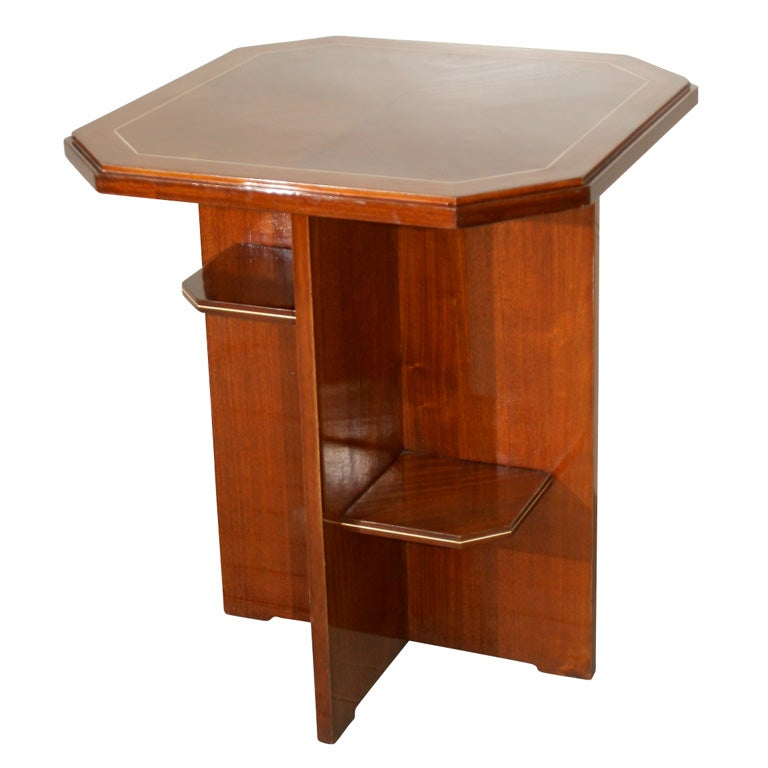 deco hair styles deco side table at 1stdibs 7501