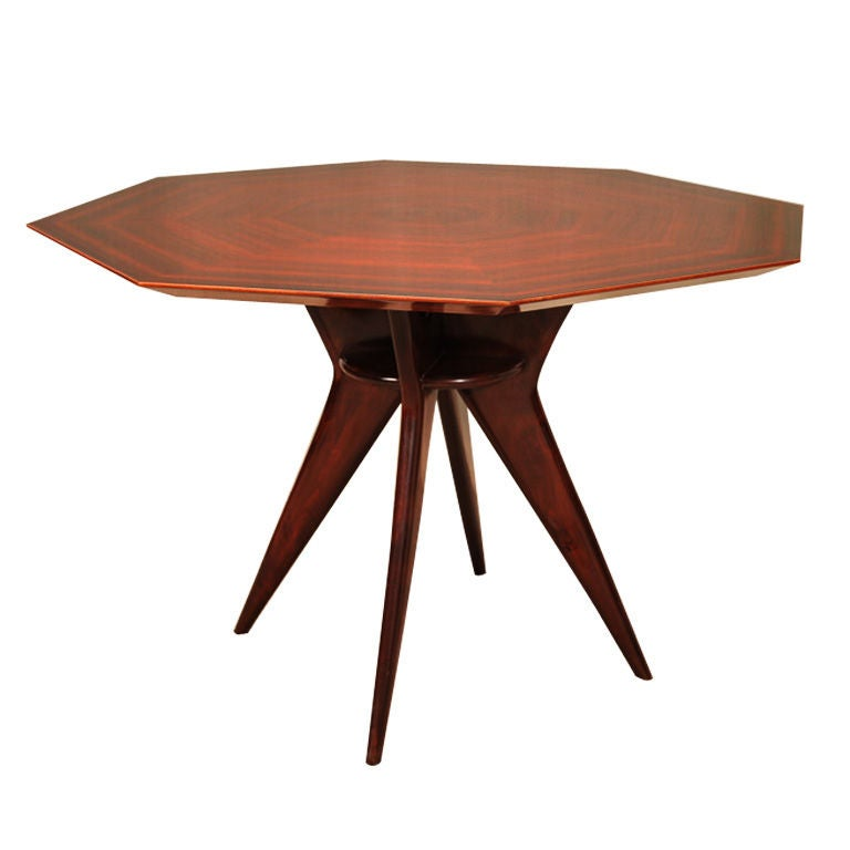 italian octagonal dining table at 1stdibs