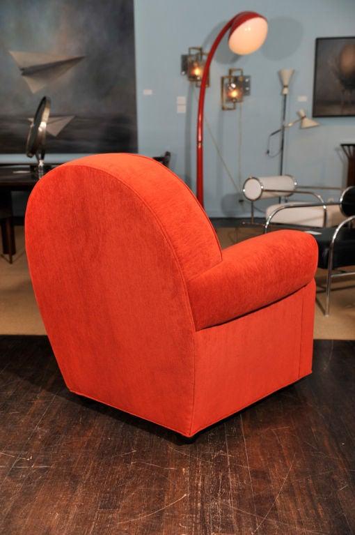 Italian Sculptural Club Chair by Vittorio Valabrega For Sale