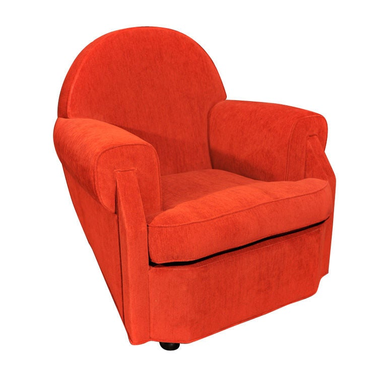 Sculptural Club Chair by Vittorio Valabrega For Sale