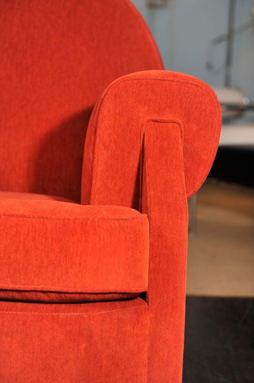 Sculptural Club Chair by Vittorio Valabrega For Sale 3