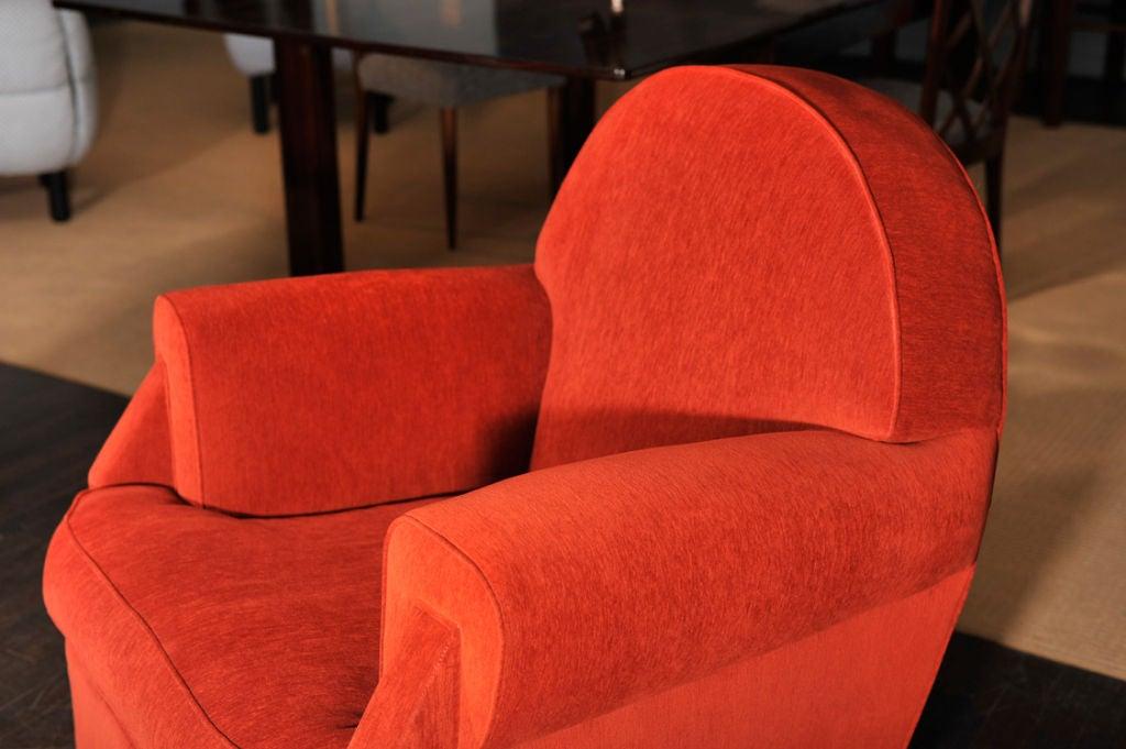Sculptural Club Chair by Vittorio Valabrega For Sale 4