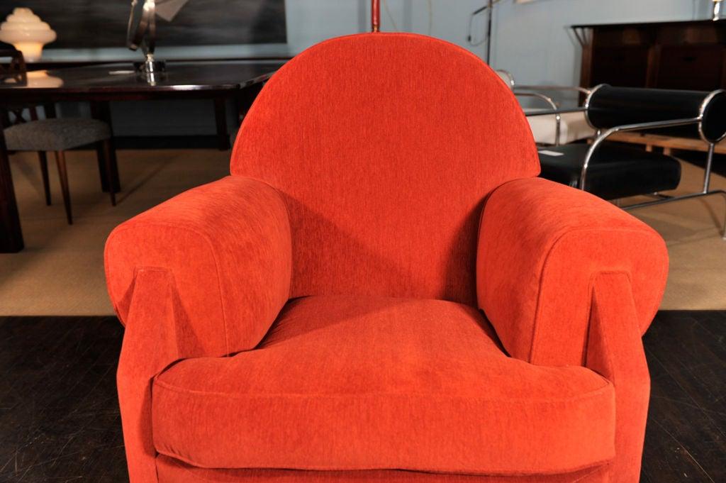 Sculptural Club Chair by Vittorio Valabrega For Sale 5