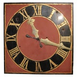 Square Bell Tower Clock Face
