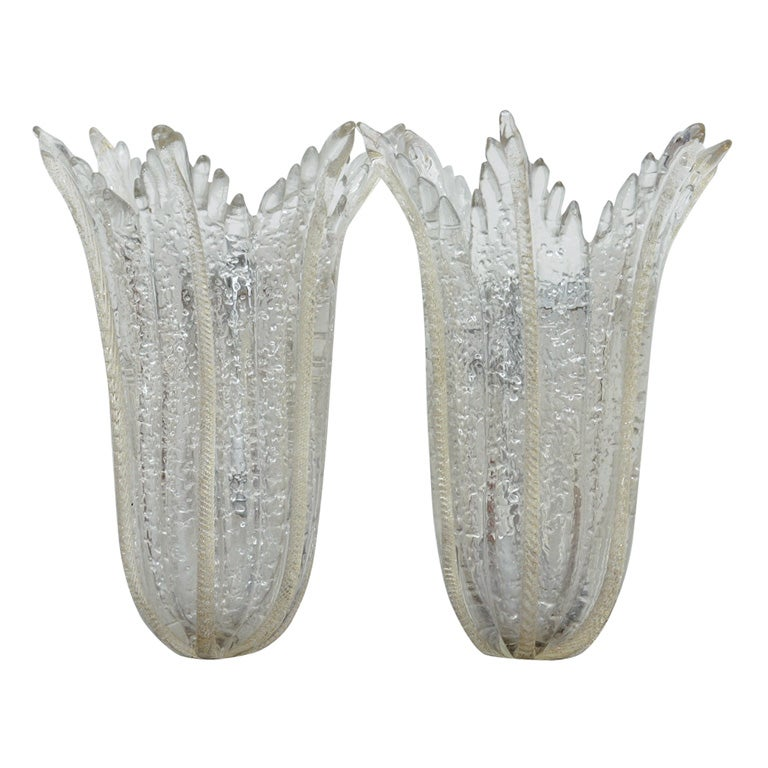 Murano Glass Wall Sconces At 1stdibs