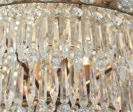 French Empire Style Chandelier image 3