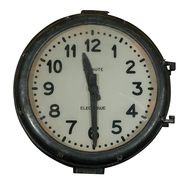 Train Station Clock At 1stdibs