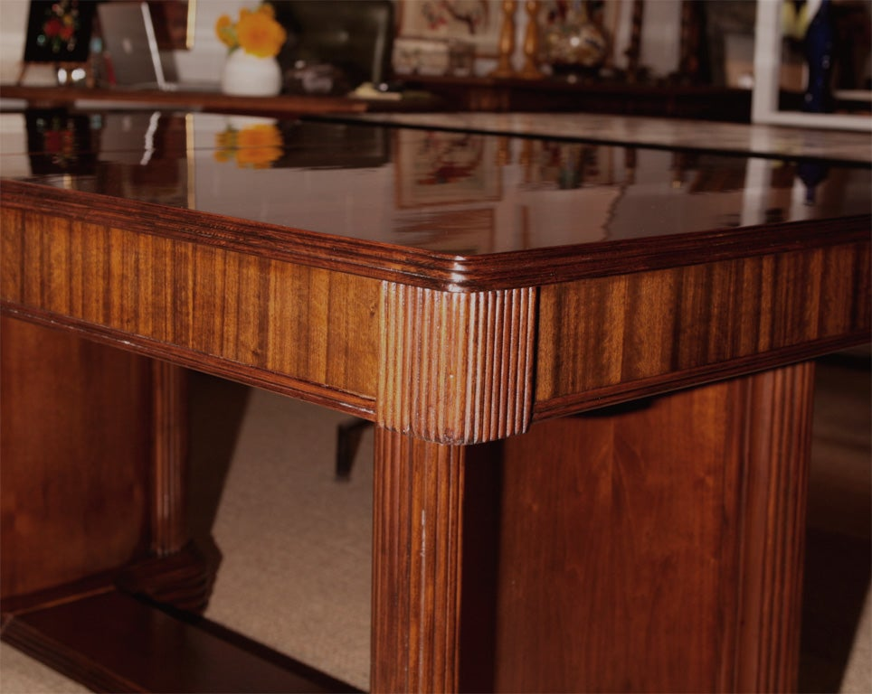 Swedish Hidden Leaf Dining Room Tables Contemporary