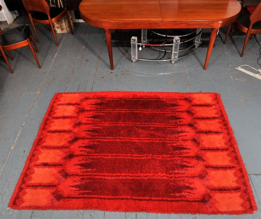 Red Rya Rug image 2