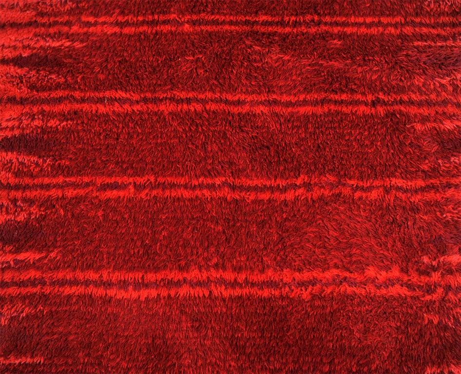 Red Rya Rug image 3