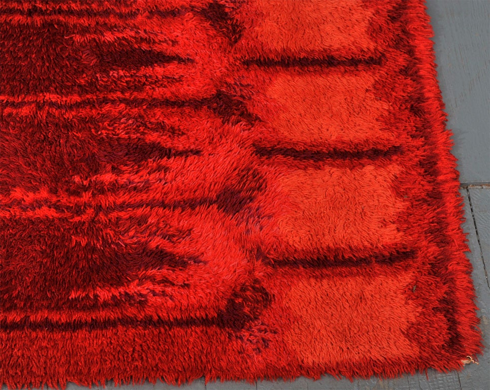 Red Rya Rug image 4