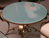 French Art Deco table image 6