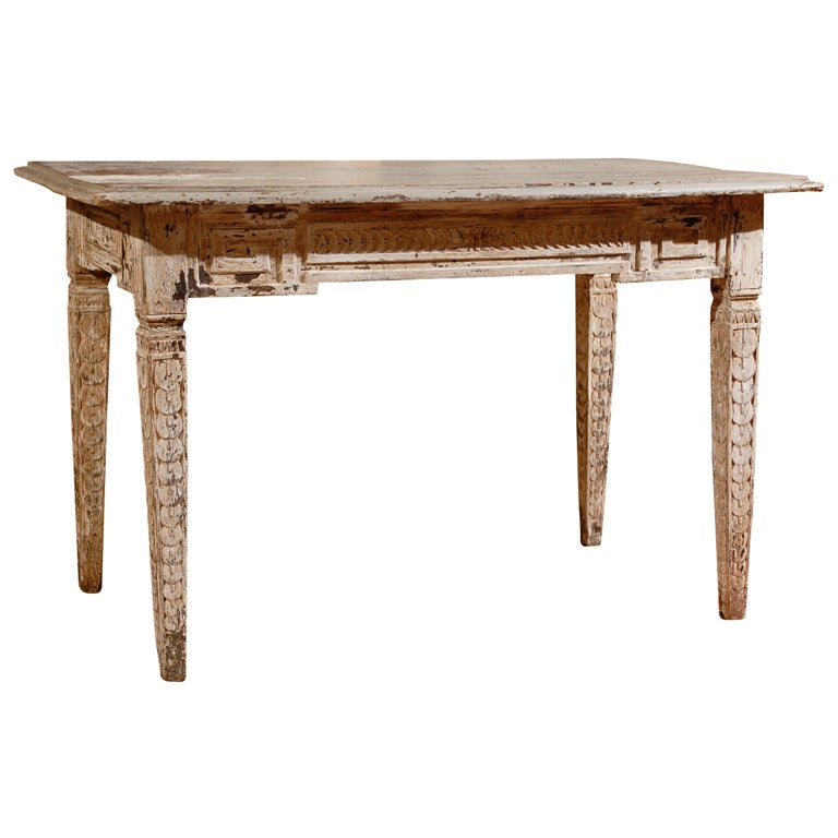 19th century center table at 1stdibs for Table th center