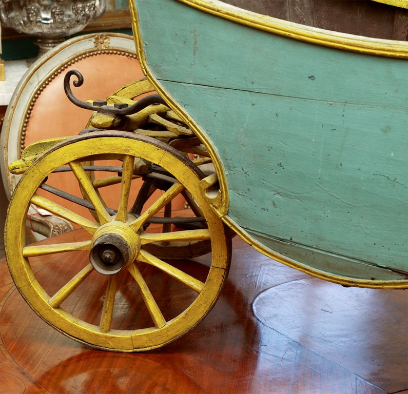 18th Century and Earlier 18th C CHILDS CABRIOLET For Sale