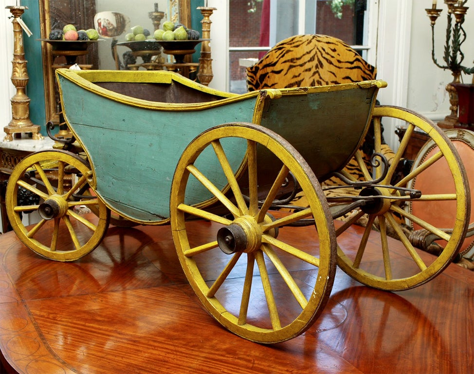 18th C CHILDS CABRIOLET For Sale 3