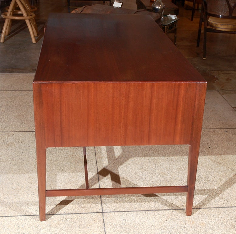 Ole Wanscher Mahogany Desk At 1stdibs