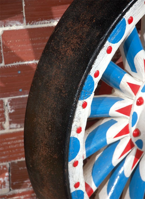 Colossal Circus Wagon Wheel For Sale 1