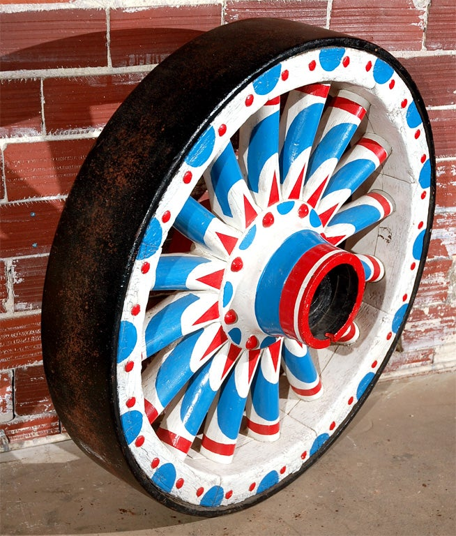 Colossal Circus Wagon Wheel For Sale 2