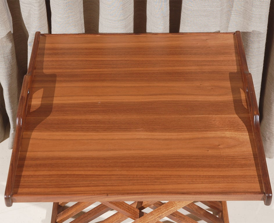 Edward folding tray side table by lawson fenning for for Tray side table