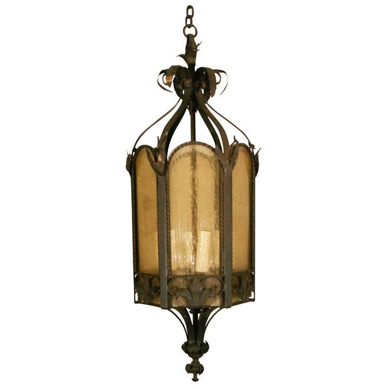 Iron French Provincial Lantern At 1stdibs