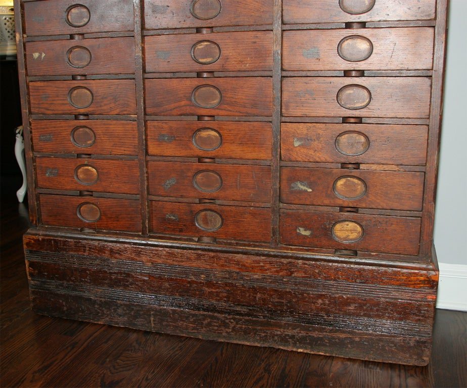 Creative Cole Steel Vintage Flat File Cabinet At 1stdibs