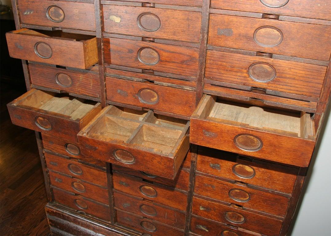 Oak Filing Cabinet