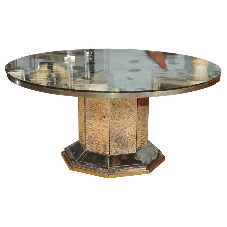 Mirrored Coffee Table Sale: Mirrored Coffee Table At 1stdibs