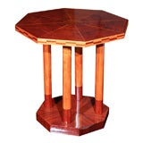 Amazing Marquetry Side Table