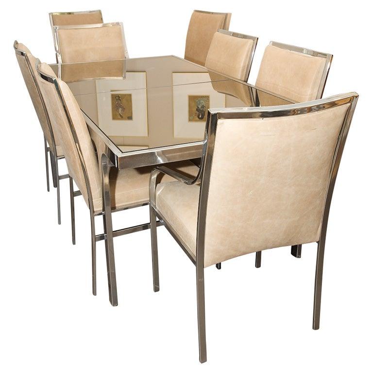 1970 39 s signed pierre cardin dining set at 1stdibs for 1970 dining room set