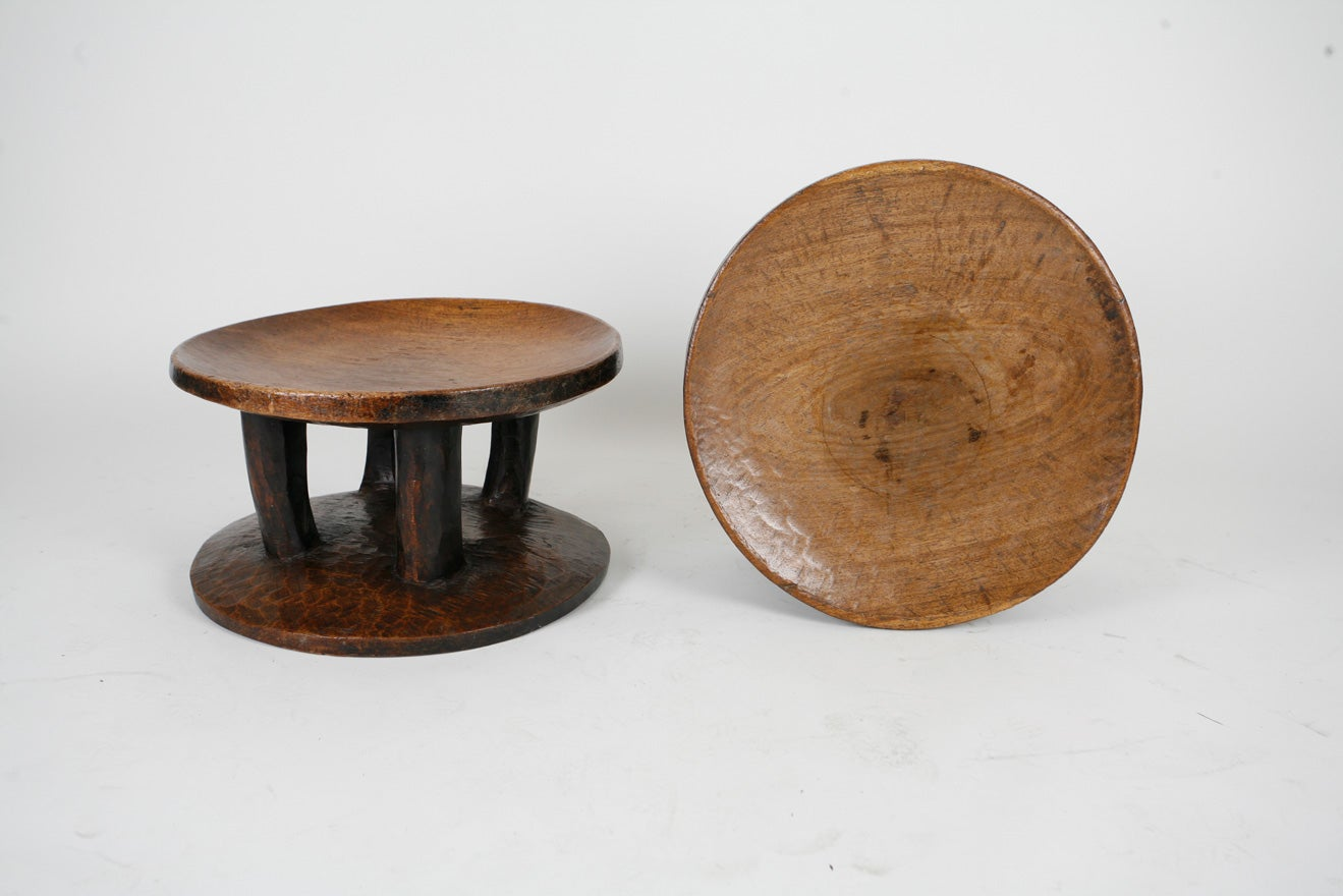 Pair of African stools 1
