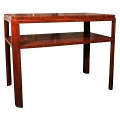 Unique Console Table by Eugene Schoen