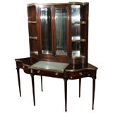 Vitrine - Vanity Display Cabinet w, Showcase Top-JMaison Jansen
