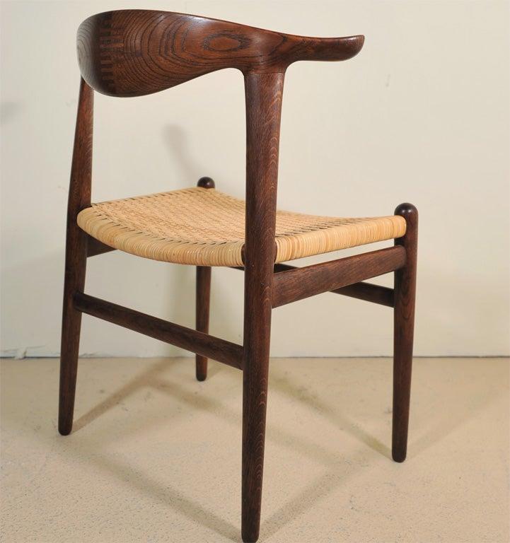20th Century Cowhorn Chair       Hans Wegner For Sale