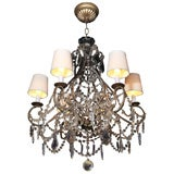 Venetian Beaded Crystal Chandelier